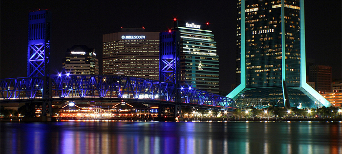 Jacksonville skyline by Craig ONeal, Flickr